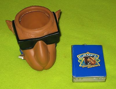 Joe Camel Smooth Character Playing Cards and Cup Mug Tabacco Cigarette