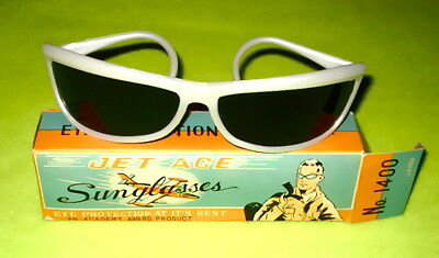 Jet Age Sunglasses An Academy Award Product Sun Protection Promotional 60s 70s