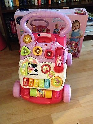 Vtech pink baby walker in very good condition