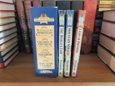 The Days Of Laura Ingalls Wilder Books 1-4 Set By T. L. Tedrow plus