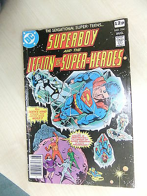 Superboy and the Legion of Super-Heroes Vol 1 No 254 Aug 1979 (VFN+) Bronze Age