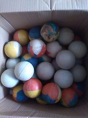 10 Rubber Cricket Balls - Wholesale Joblot