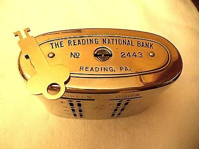 Automatic Recording  National Currency Bank   Reading National Bank, Pa.  #2443