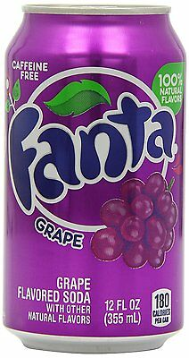 Fanta Grape Soda Can 355 ml (Pack of 12) - 24HR DELIVERY