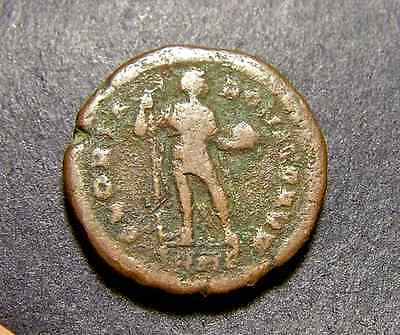 THEODOSIUS I, the Great, Whole World in His Hands, 21mm Imperial Roman Coin