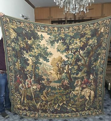 "A SUPERB huge Antique French Wall Hangihg Tapestry 82""By 84"""