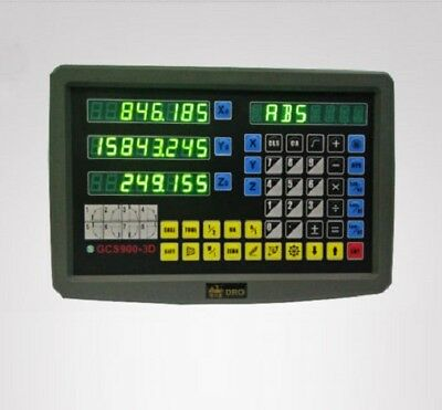 Customized 3 AXIS DIGITAL DISPLAY READOUT DRO LATHE MACHINE AND 3 LINEAR SCALE
