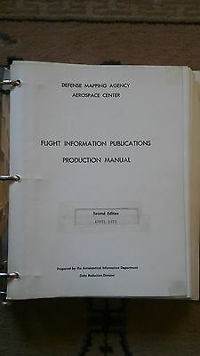Defense Mapping Agency Flight Information Publications Production Manual