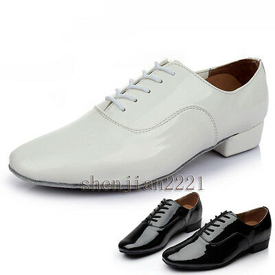 men's children boy ballroom latin Waltz Modern salsa tango dance shoes heeled