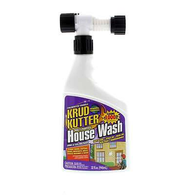 Krud Kutter House Wash Pre Paint Surface Cleaner Spray On Non Toxic 946ml