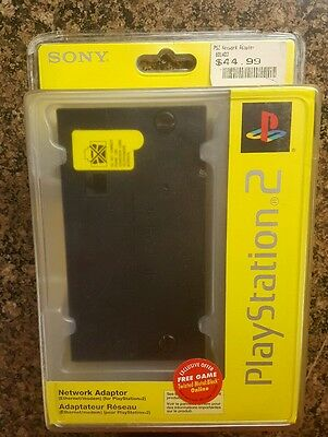 Sony PlayStation 2 Network Adapter. BRAND NEW. RARE. MODEM CARD. Free Shipping
