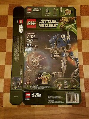 Lego Star Wars AT-RT 75002 Box Only