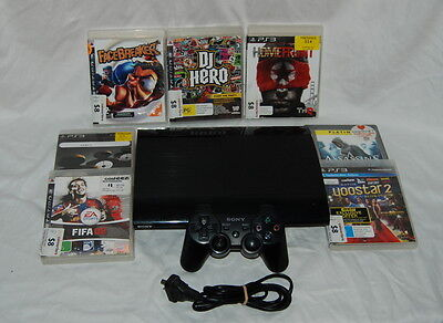 Sony Playstation 3 12GB Console with 7 Ganes