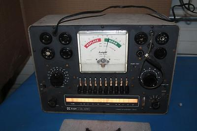 Vintage Knight Tube Tester Powers On And Lights Up Allied Radio