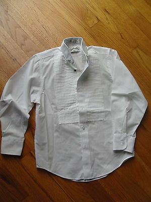 Southeastern pleated white shirt size BS/boys small for performances
