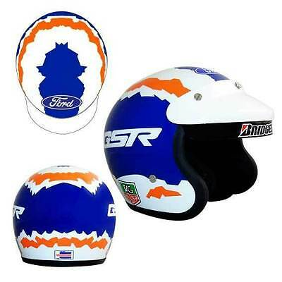 1996 To 1998 Glenn Seton Limited Edition Mini Helmet With Signed Certificate 1:2