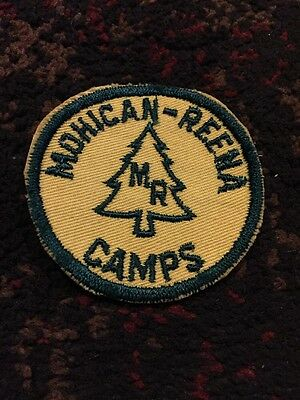 Mohican Reena Camps Embroidered Patch Massachusetts BSA
