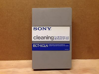 Sony Beta dry head cleaning tape, Brand new,  model BCT-5CLN