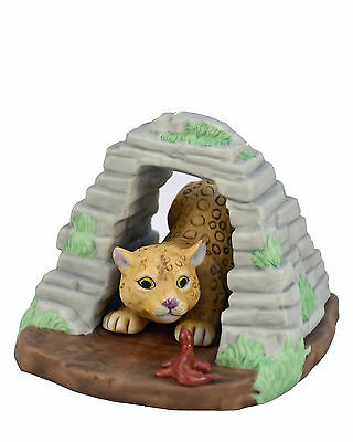 Leopard baby with Habitat Franklin Mint.