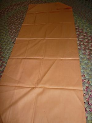 """Vintage 30-""""s 40""""s  Fabric  36 wide by 47 inches Long RARE  PEACH SOLID"""