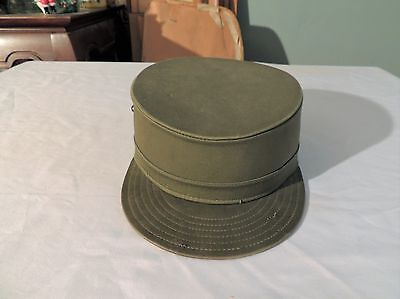 Vintage 1960's BANCROFT ROCK United States Army FATIGUE CAP Hat Military