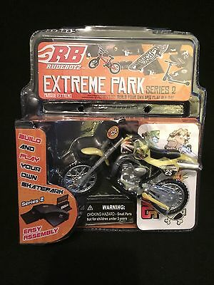 Rare Rudeboyz Extreme Skate Park Dirt Bike Motorcycle Toy - NIB NEW - vintage