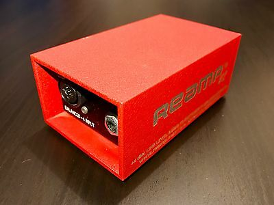 Reamp V2! The Original. Beautiful and Heavy Duty! Thick Aluminum.