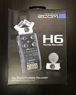 Zoom H6 Handy Field Recorder with Interchangeable Mics - FREE SHIPPING!