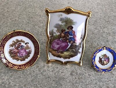 Miniature Plates & Picture Limoges France Collection