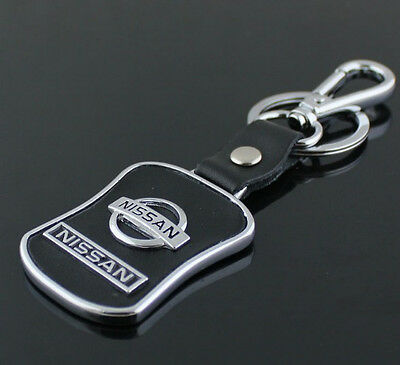 New  Nissan Series Style Car Keychain Nissan Leather Keychain Collect Key Ring