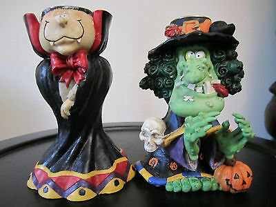 Halloween Candle Stick Holders