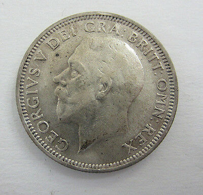 1936 Great Britain Silver Shilling George V