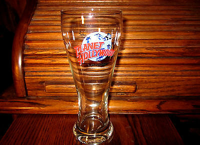 LONDON Planet Hollywood Pilsner - collectible beer glass