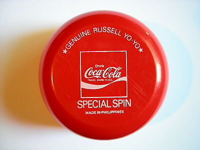 Coca Cola Genuine Russell Special Spin Olympic Yo Yo