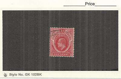 Southern Nigeria 1907 George V 1d Red Single Fine Used