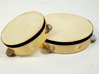Natural Tambourines Small or Large