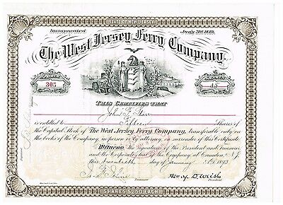 The West Jersey Ferry Co., 1893