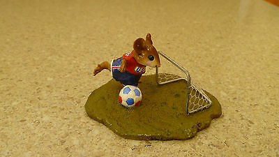 Wee Forest Folk Rare Limited Edition What A Kicker With Wff Box