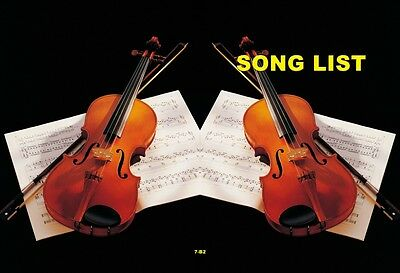 Chinese Song book for MIDI DVD Karaoke Player