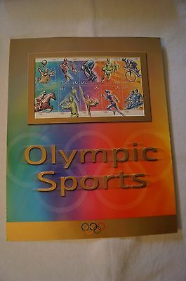 Olympic Games Collectable - Sydney 2000 - Olympic Sports Stamp Pack - Sealed