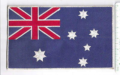 Australia flag patch   Large, embroidered patch, 25x15 cm (10x6 inches)