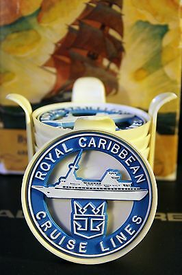 Royal Caribbean Cruise Lines Drink Coasters set of 8