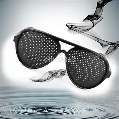 Pinhole Glasses Hole EYE Glasses Anti-Fatigue Vision Care Eyesight Improver