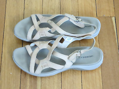 MERRELL womens leather sandals...Size US 11/UK 9.