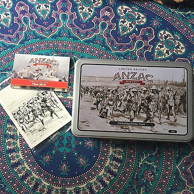 Limited Edition ANZAC biscuits Tin 2016
