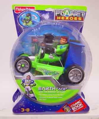 Planet Heroes - Earth (Ace with Cart)