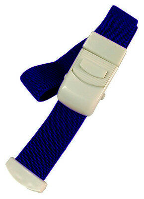 Tourniquet Quick Release Blood Blue Reusable Band Buckle Elastic IV Therapy Hand