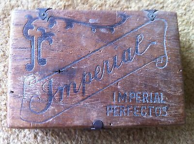 Collectable Imperial timber box