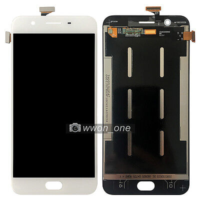 New 5.5'' White Oppo F1S  Touch Screen Digitizer LCD Display Assembly
