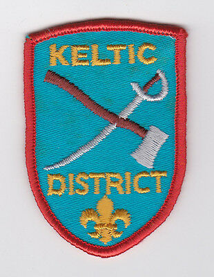 SCOUT OF CANADA - CANADIAN SCOUTS NOVA SCOTIA (NS) KELTIC DISTRICT Patch